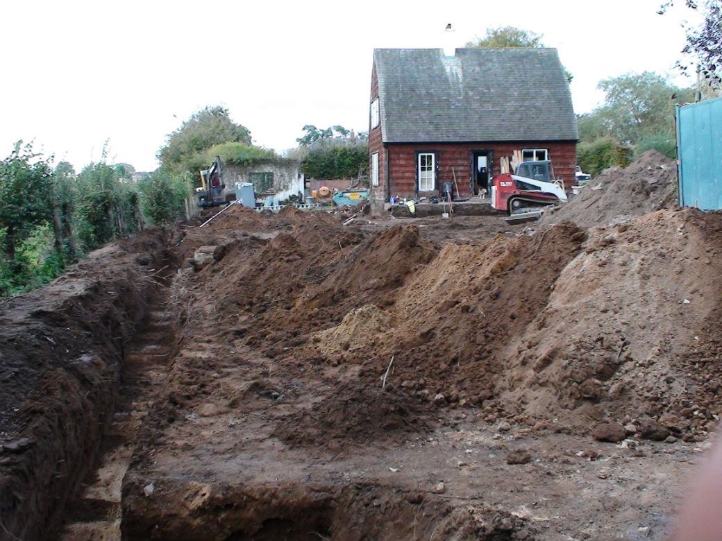 Drainage Construction - Whare Koa